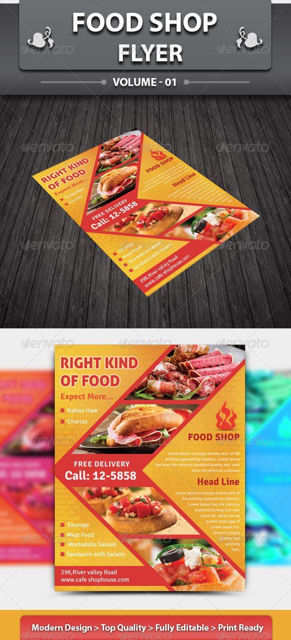 restaurant business flyer volume 5
