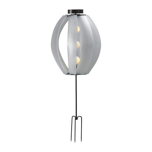Here es the sun and wind IKEA solar lighting for 2012