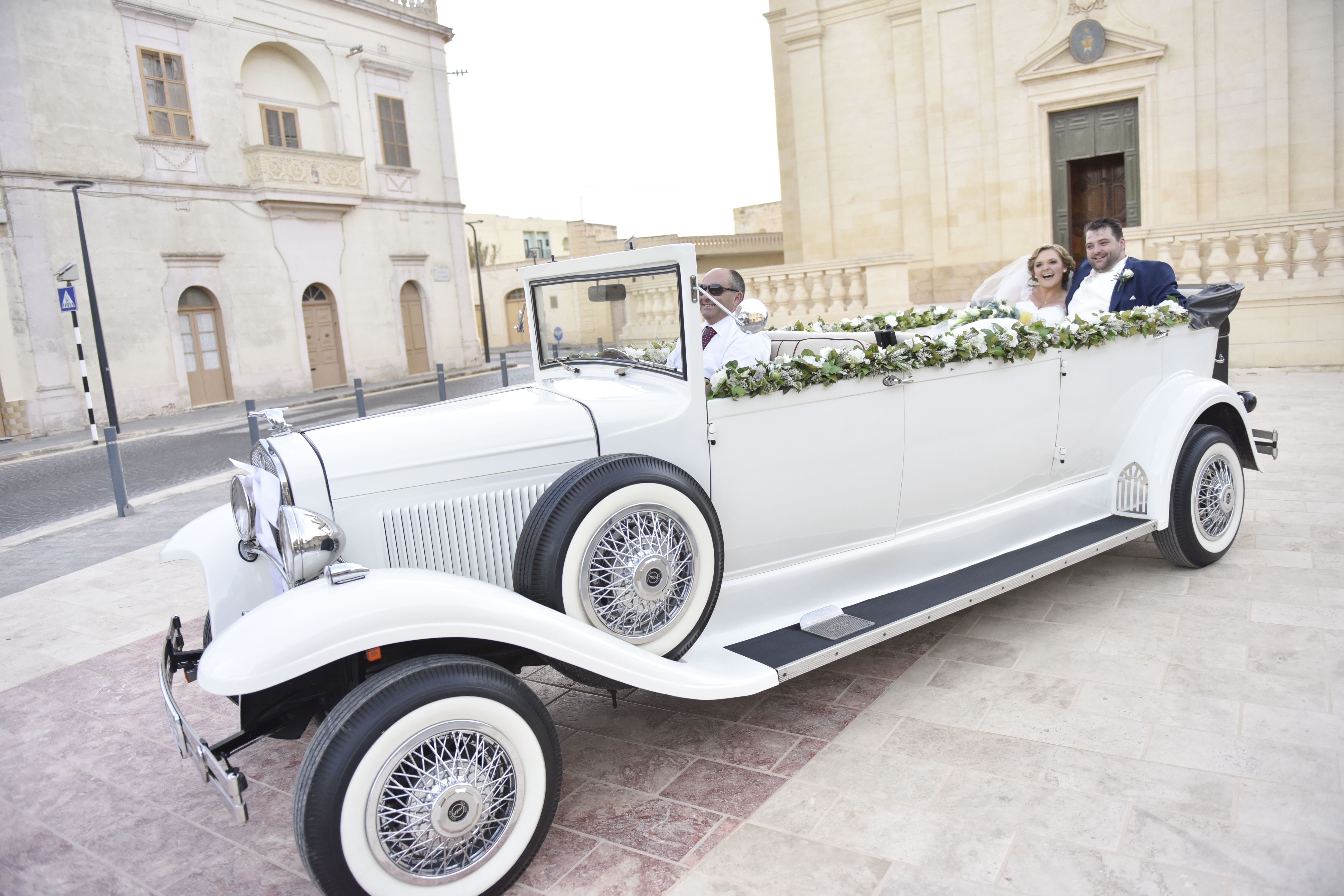 Wedding Car Wedding Planning By I Do Knot Malta Vintage Car Wedding Vintage Car Nursery Wedding Car