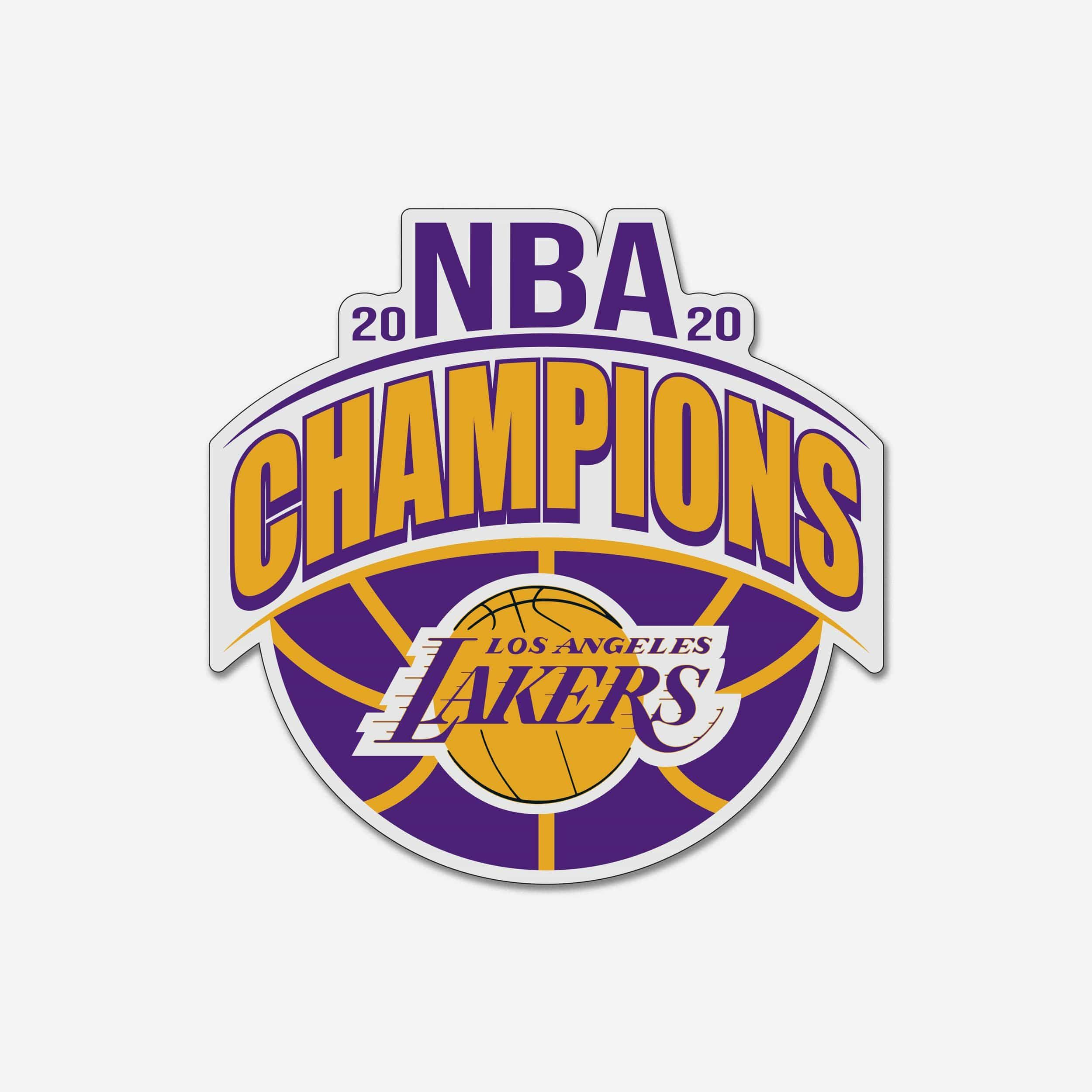 Los Angeles Lakers 2020 Nba Champions Magnet In 2021 Los Angeles Lakers Nba Champions Lakers Championships [ 2500 x 2500 Pixel ]