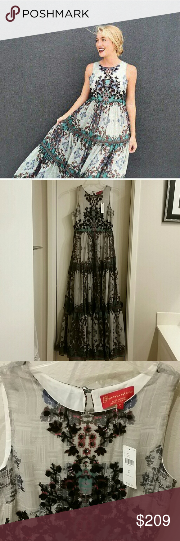 2ca5c8645313 Anthropologie Madera maxi dress Bhanuni 0 New with tag attached, size 0.  Gorgeous Madera