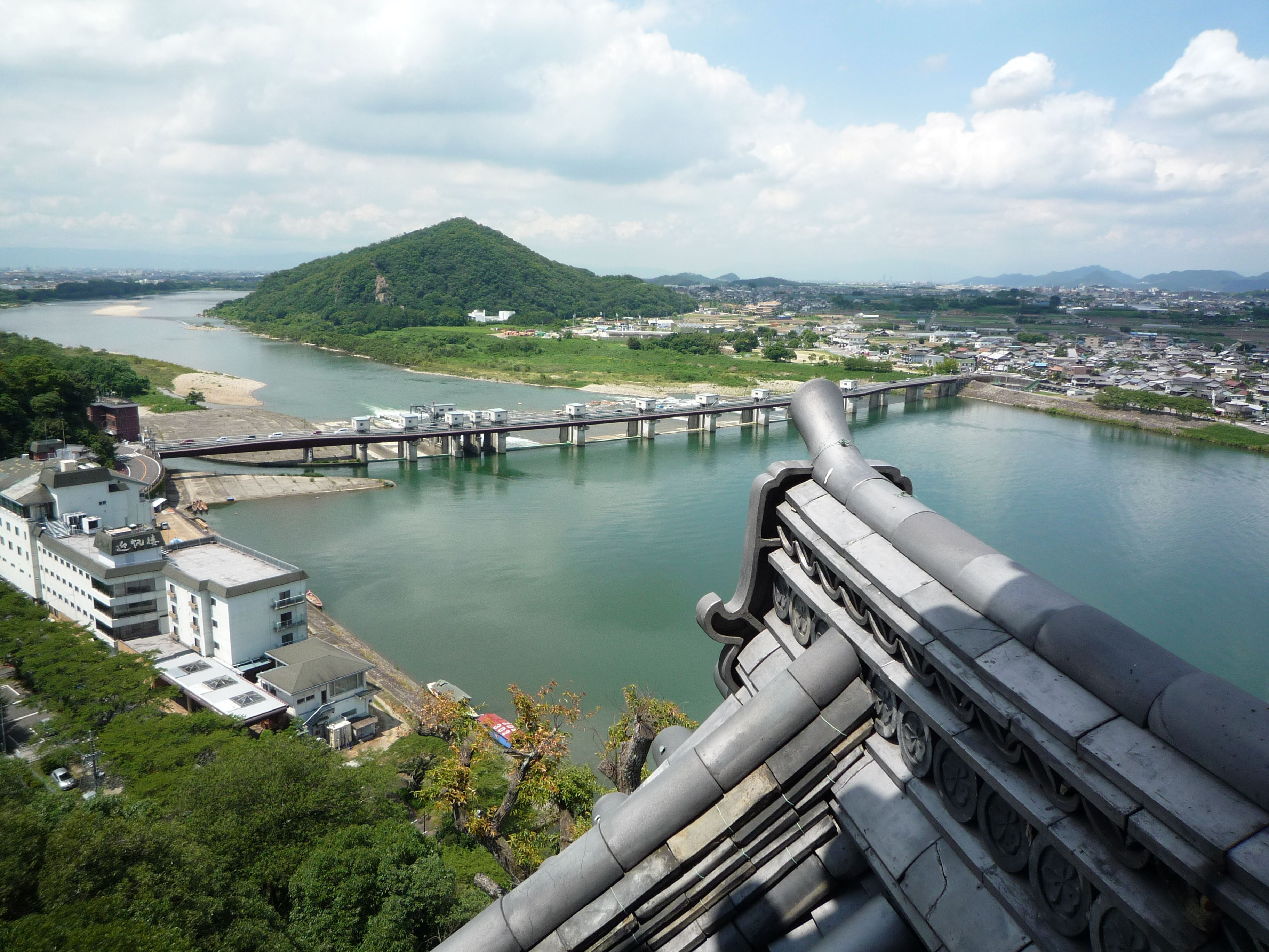 Landscape from Inuyama Castle