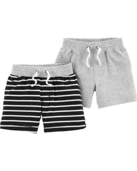 9d30ffd2b 2-Pack Pull-On Shorts | Products | Baby boy bottoms, Carters baby ...