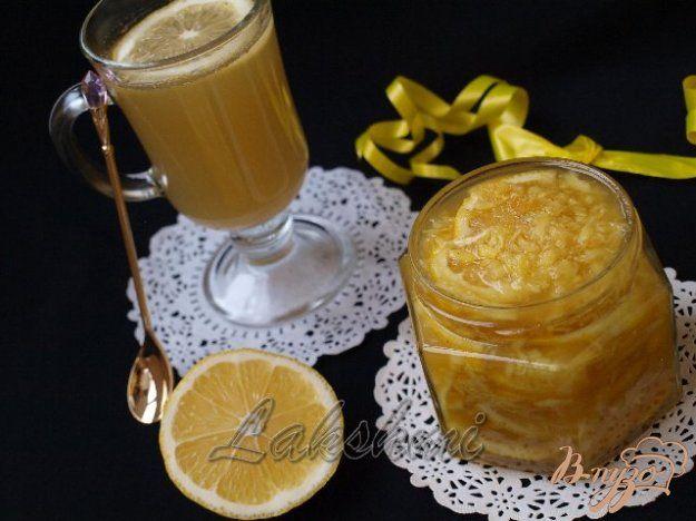 Лимон с имбирём и мёдом - пошаговый рецепт с фото
