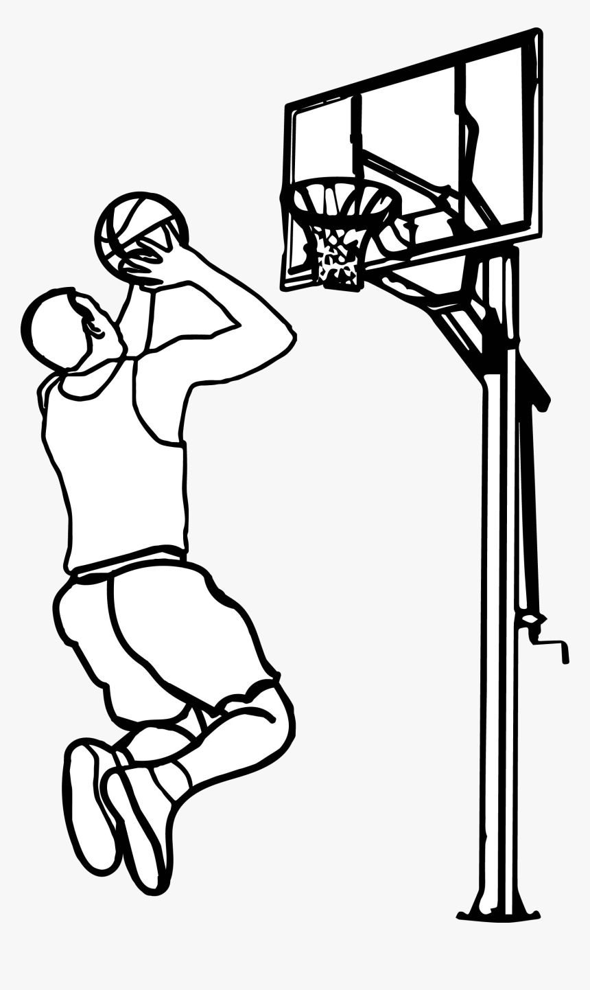 16+ Basketball clipart black and white free ideas