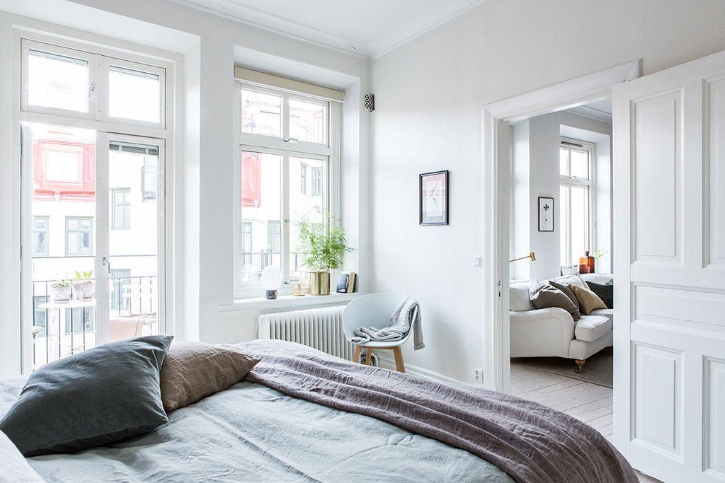 A dreamy Scandinavian apartment full of light