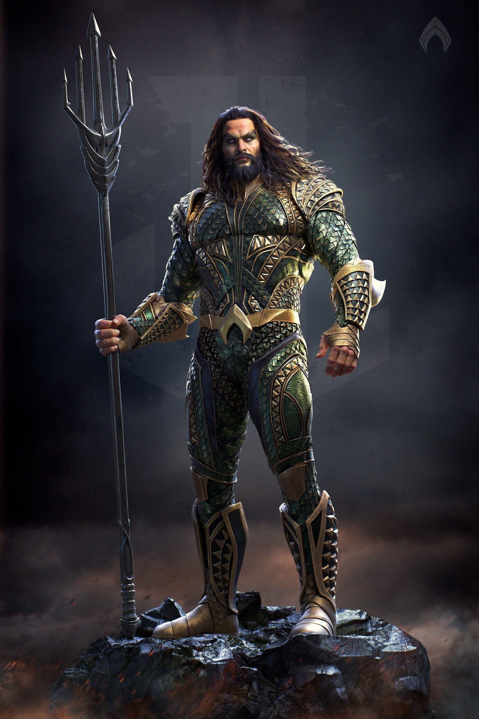 Aquaman | Justice League | Aquaman, Jason momoa aquaman ...