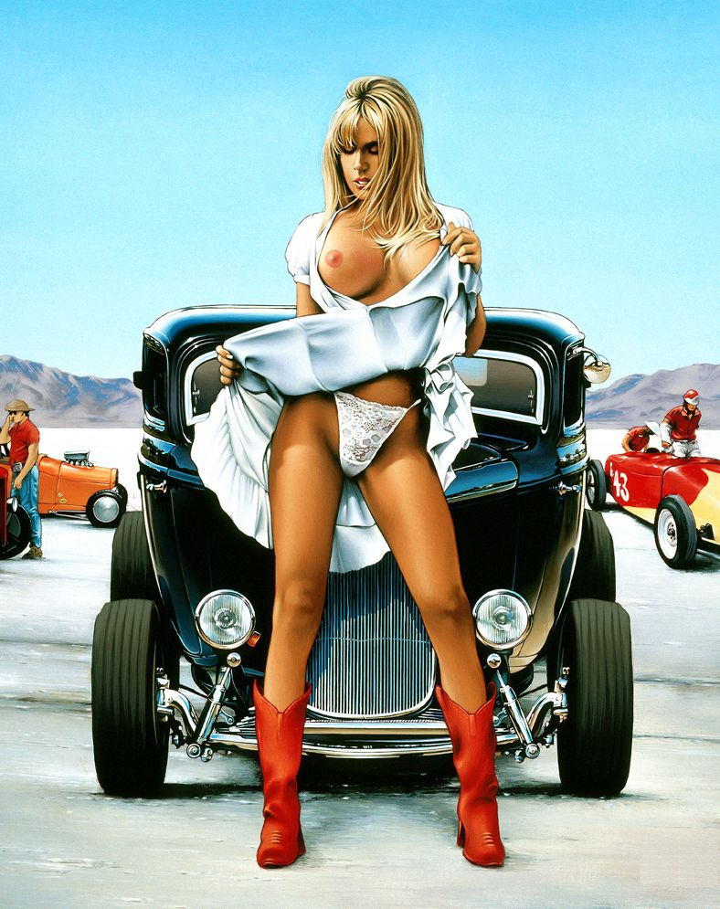 pictures of nude with street rods
