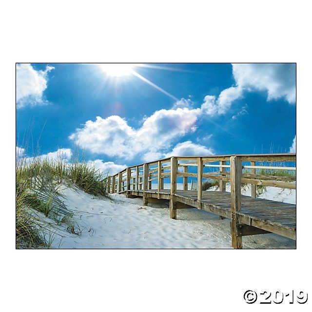Boardwalk Backdrop Beach Backdrop Backdrops Diy Photo Booth
