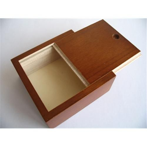 Wood Box, Slide Lid Wooden Boxes   Boxshelf   Wooden box ...