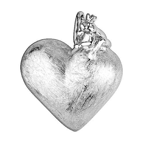 Herz mit Frosch Schmuck Geschenk der Liebe