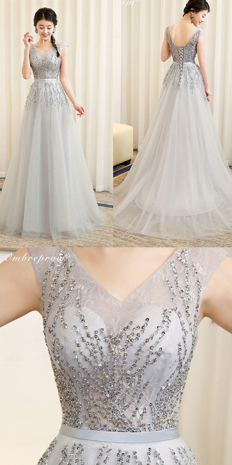 Ombreprom elegant prom dresses high quality top design sleeveless