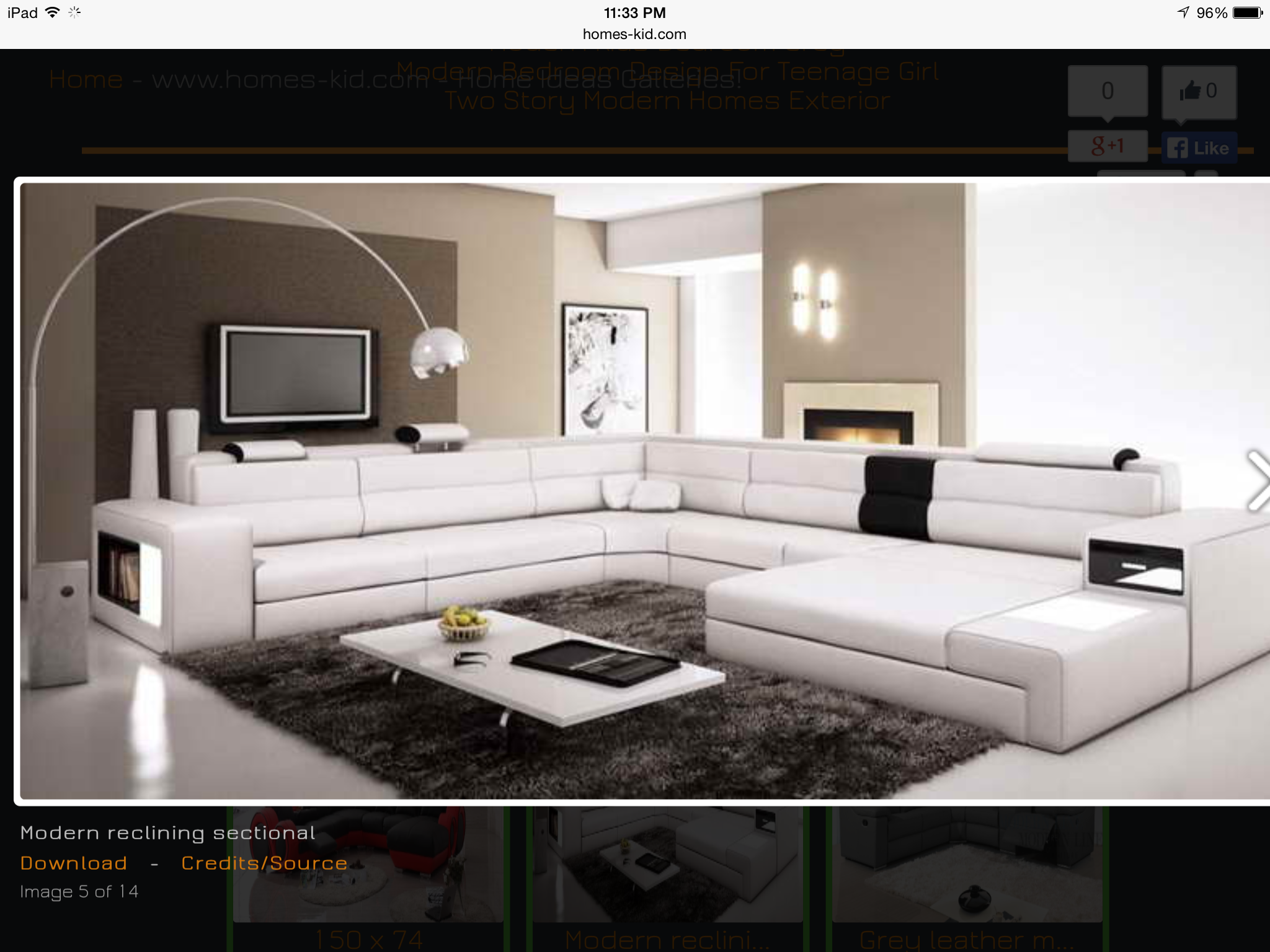 sectional contemporary sofa