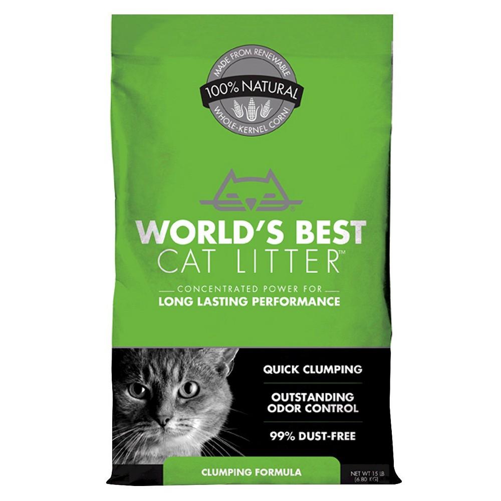 World's Best Cat Litter Clumping Cat Formula 15lbs in
