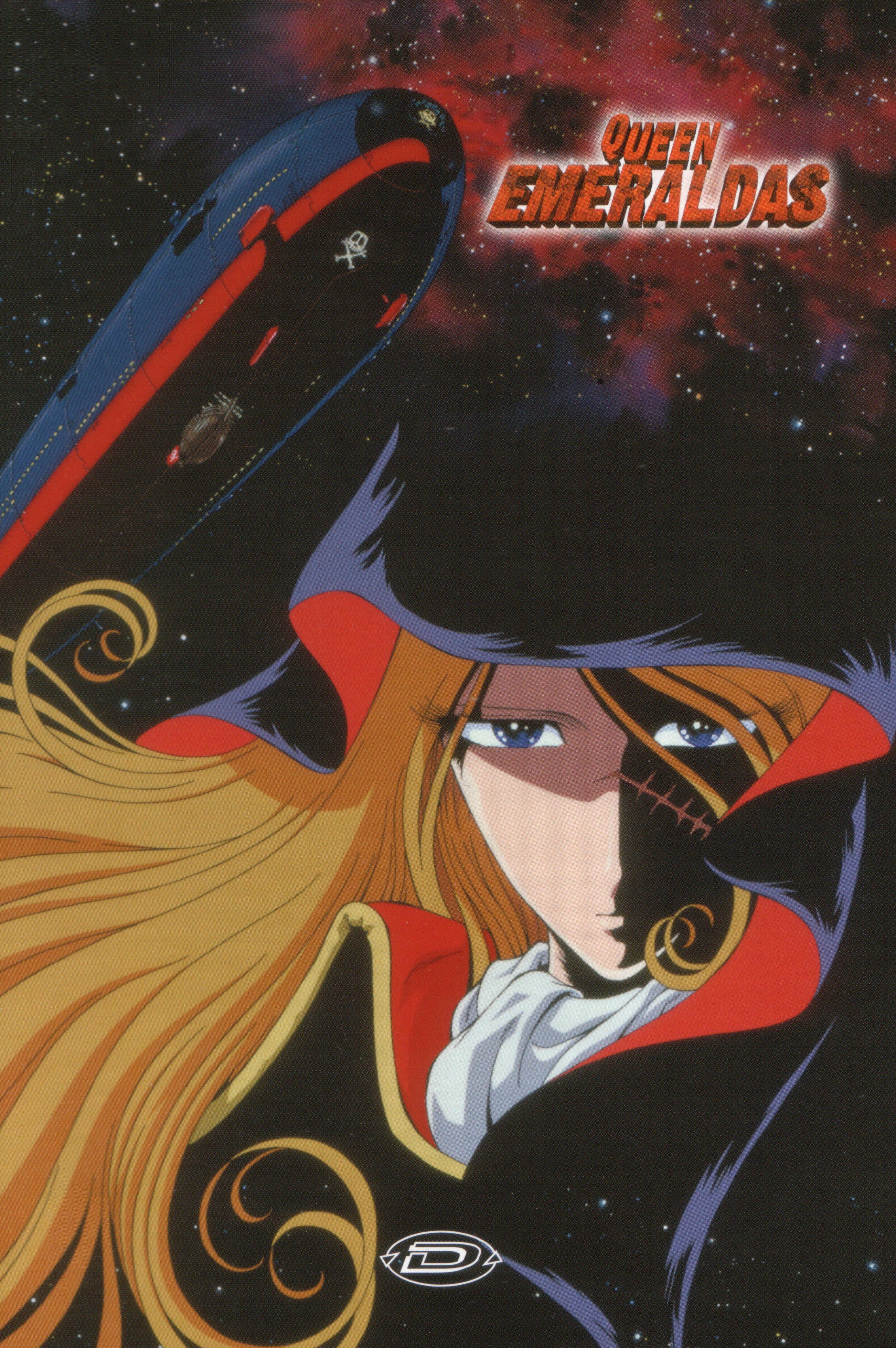 2772x4170 (100) Anime, Queen emeraldas, Captain harlock