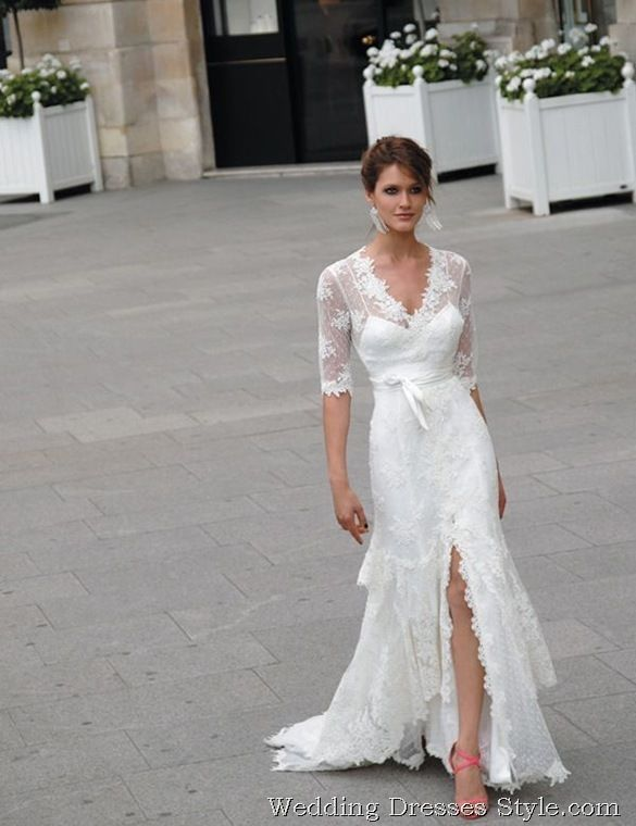 Bridal Gowns With Sleeves 2012 Bridal Gowns Trendslace Sleeves