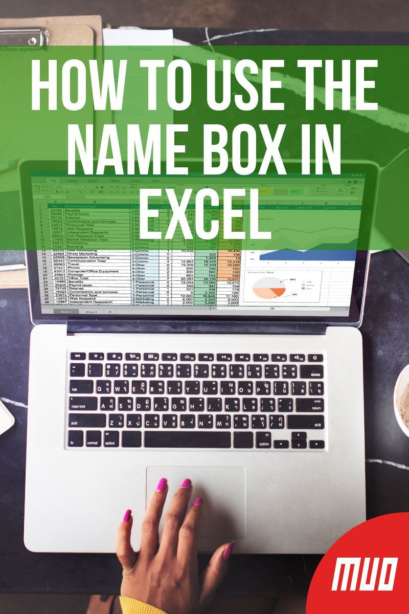 How To Use The Name Box In Excel Name Boxes Excel Tutorials Excel