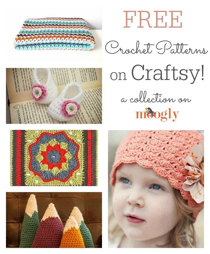 Get Free Crochet Patterns on Craftsy | crochet | Pinterest | Croché ...