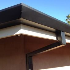 Types Of Residential Rain Gutters Everything Gutter Gutters How To Install Gutters House Gutters