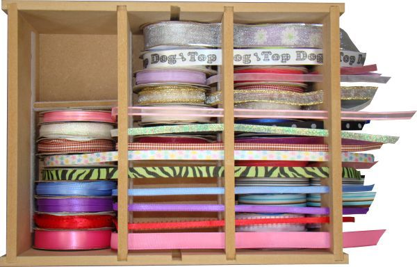 Ribbon chest designed to hold ribbon on spools up to a maximum size of Storage furniture suppliers of craft storage boxes craft organisers and business or ... & 20 Ribbon Chest :: Ribbon :: Storage Furniture Suppliers Craft ...