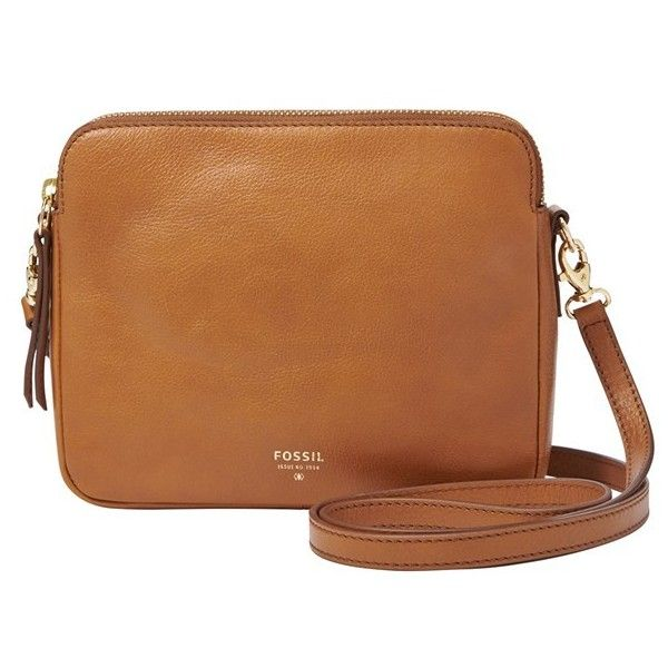 Fossil Sydney Leather Crossbody Bag 170 Cad Liked On Polyvore Featuring