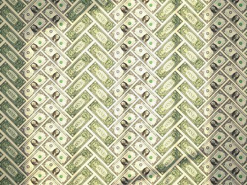 Alexander Pincus Blog Money Talks Money Talks One Dollar Bill Herringbone Wallpaper