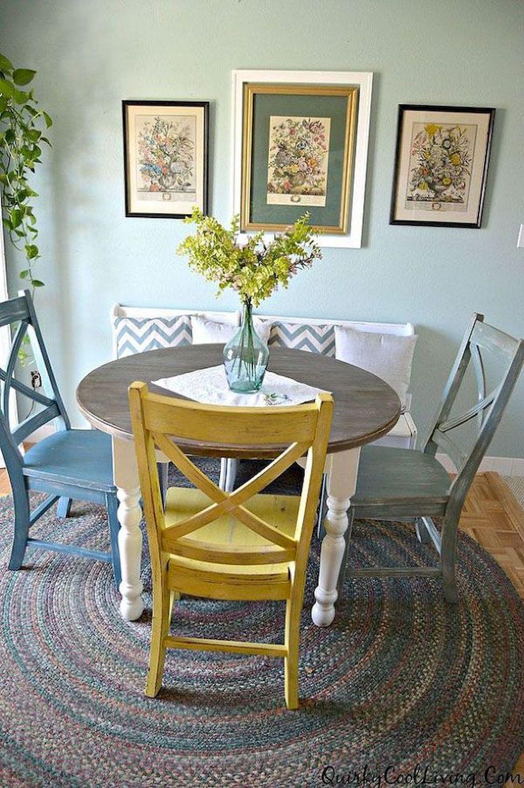 65 Small Dining Room Table & Decor Ideas   Gladecor.com ...