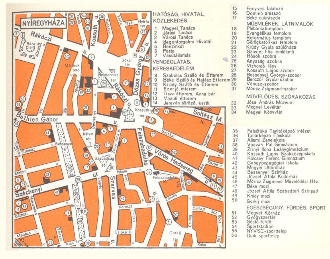 nyiregyháza térkép nyíregyháza nevezetességei képekben   Google keresés | Nyíregyháza  nyiregyháza térkép