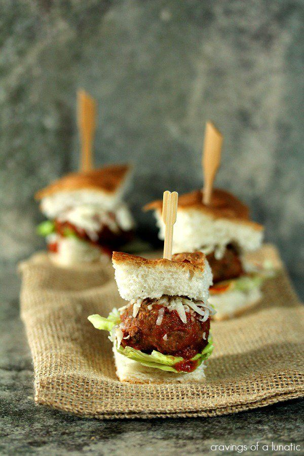 finger food ideas for bridal shower%0A Meatball Bites from on    Great Bridal Shower Recipes on Parade Magazine  from Weelicious