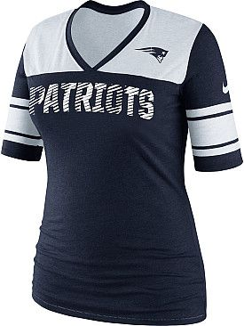 low priced 5c5e2 ff0fe $40 Women's Nike New England Patriots Touchdown T-Shirt ...