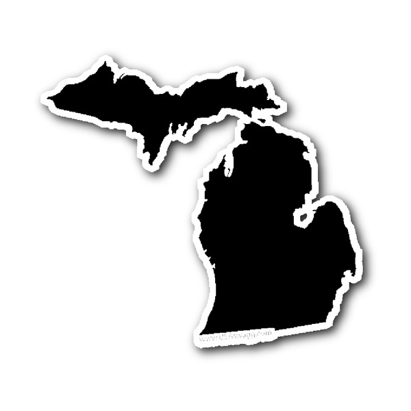 Michigan Map Outline Printable State Shape Stencil Pattern Scroll Saw Patterns Free Scroll Saw Patterns Michigan Outline