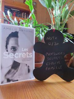 Les lectures de Mylène: Les secrets de Amélie Antoine