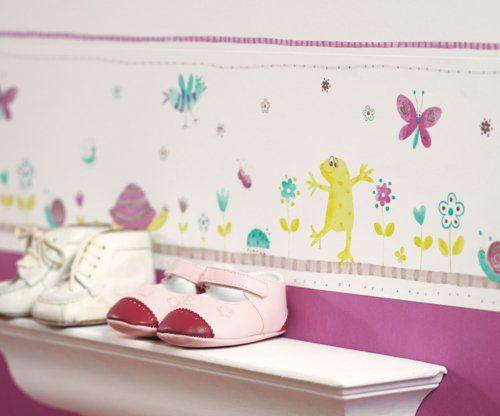 designer tapeten im kinderzimmer zoey 39 s room m dchen. Black Bedroom Furniture Sets. Home Design Ideas