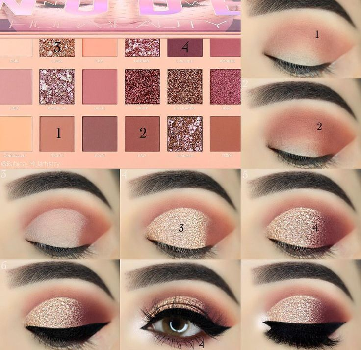 10 Quick & Easy Step By Step Smokey Eye Makeup.. | Med Tech