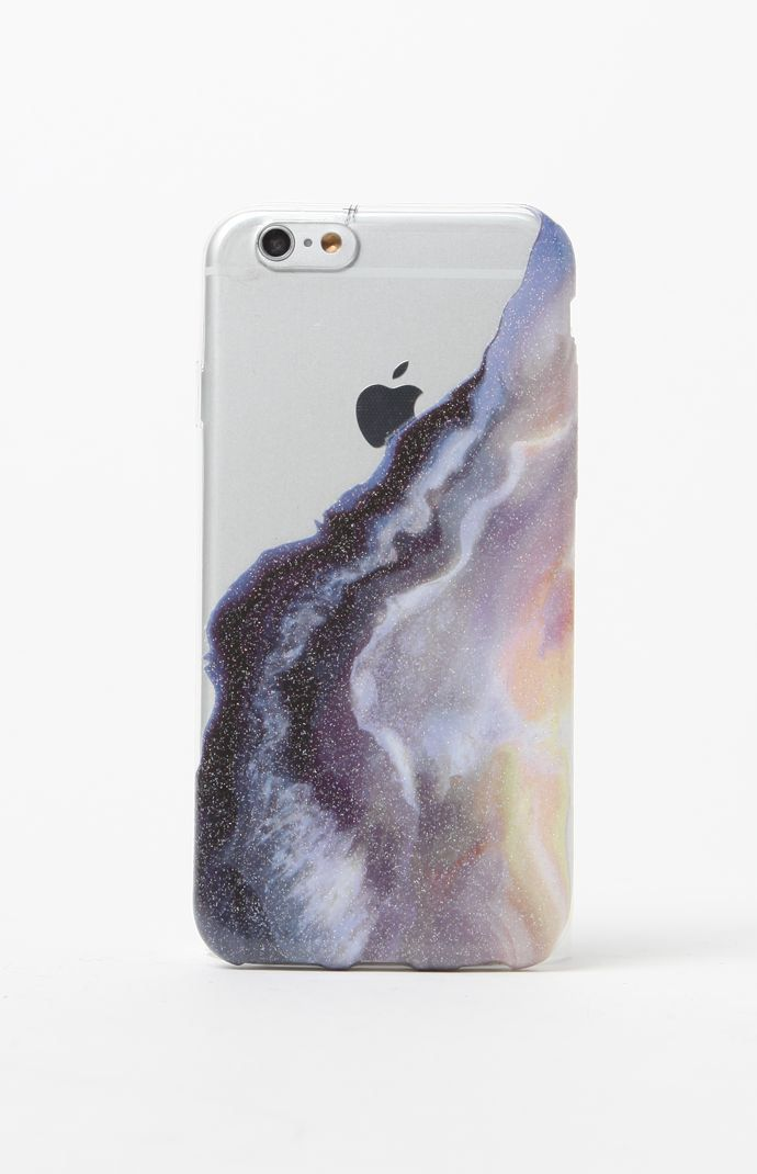 Hooked on Blue Liquid Glitter 6/6s iPhone Case that I