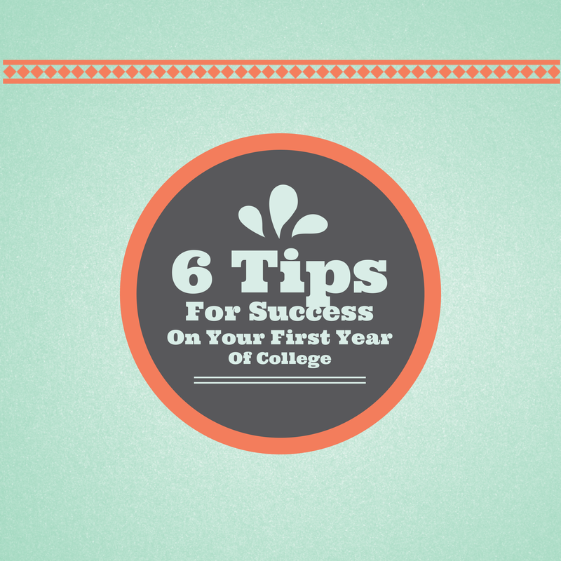 6 Tips For Success On Your First Year Of College --- Cynthathia.blogspot.com/