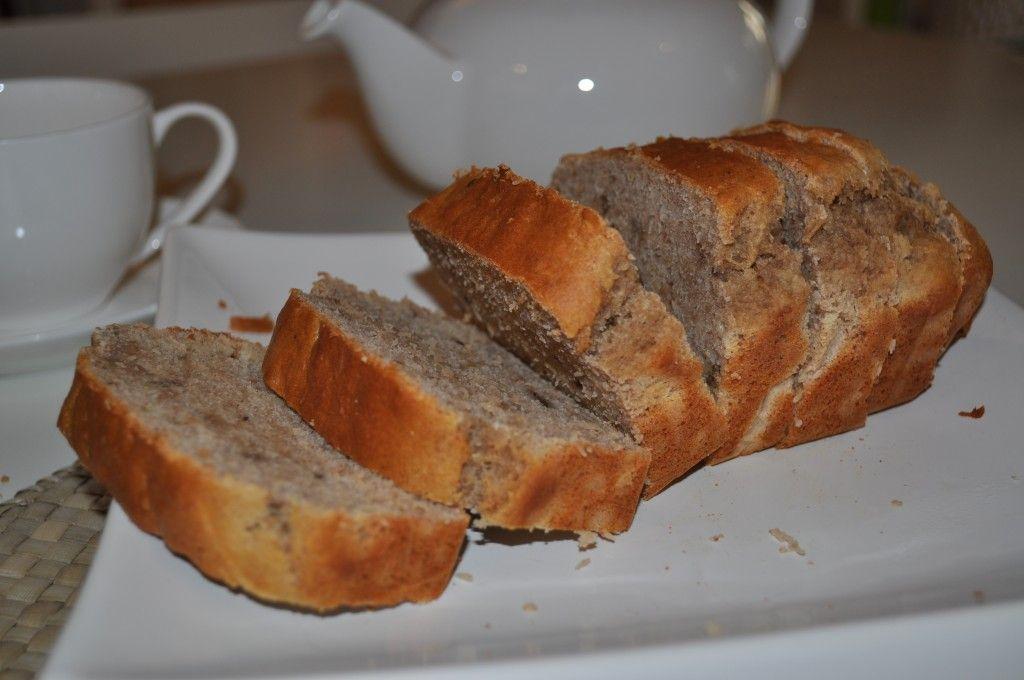 Low Calorie Banana Bread ~ 110 calories per serve