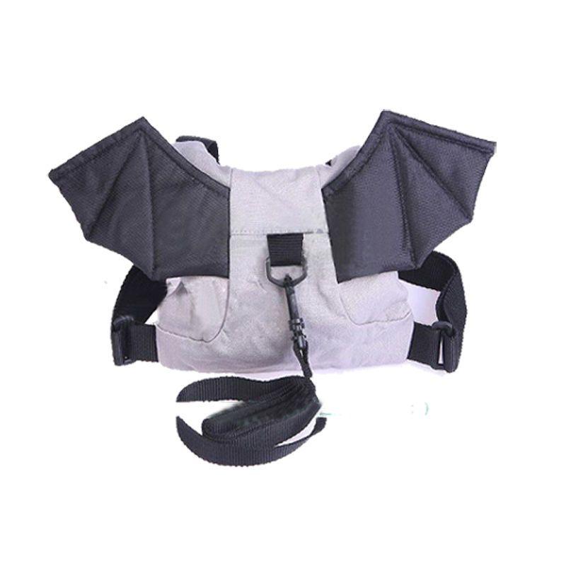 Children safety harness backpack strap bag walking wings