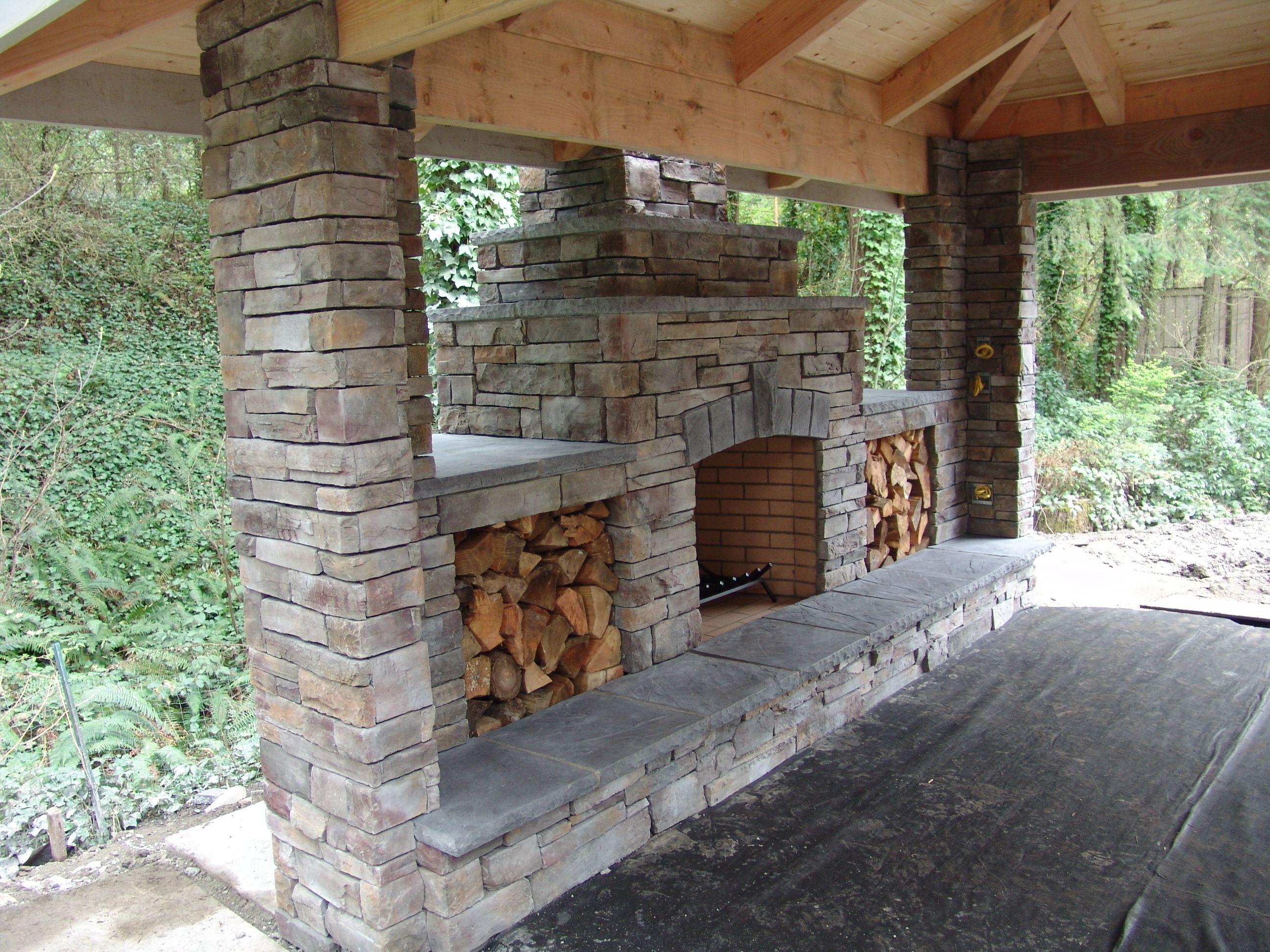 brownbrosmasonry net outdoor fireplace bbm our projects outdoor rh pinterest com