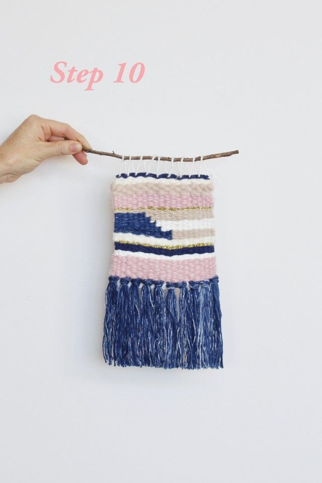 Weaving Tutorial Create Your Own Wall Hanging Weaving