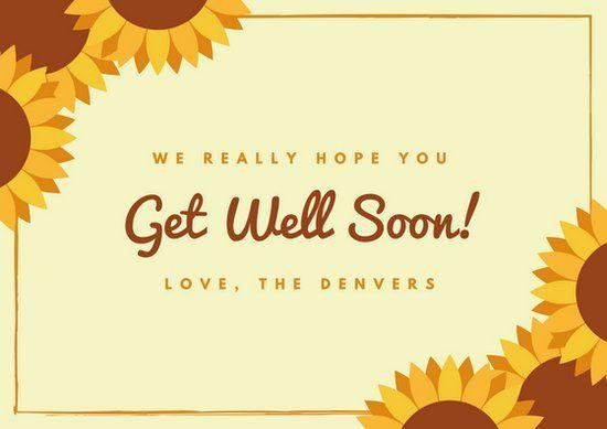 Get Well Soon Card Desktop Pinterest