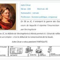 Cartes D Identite De Personnages Historiques Carte D Identite