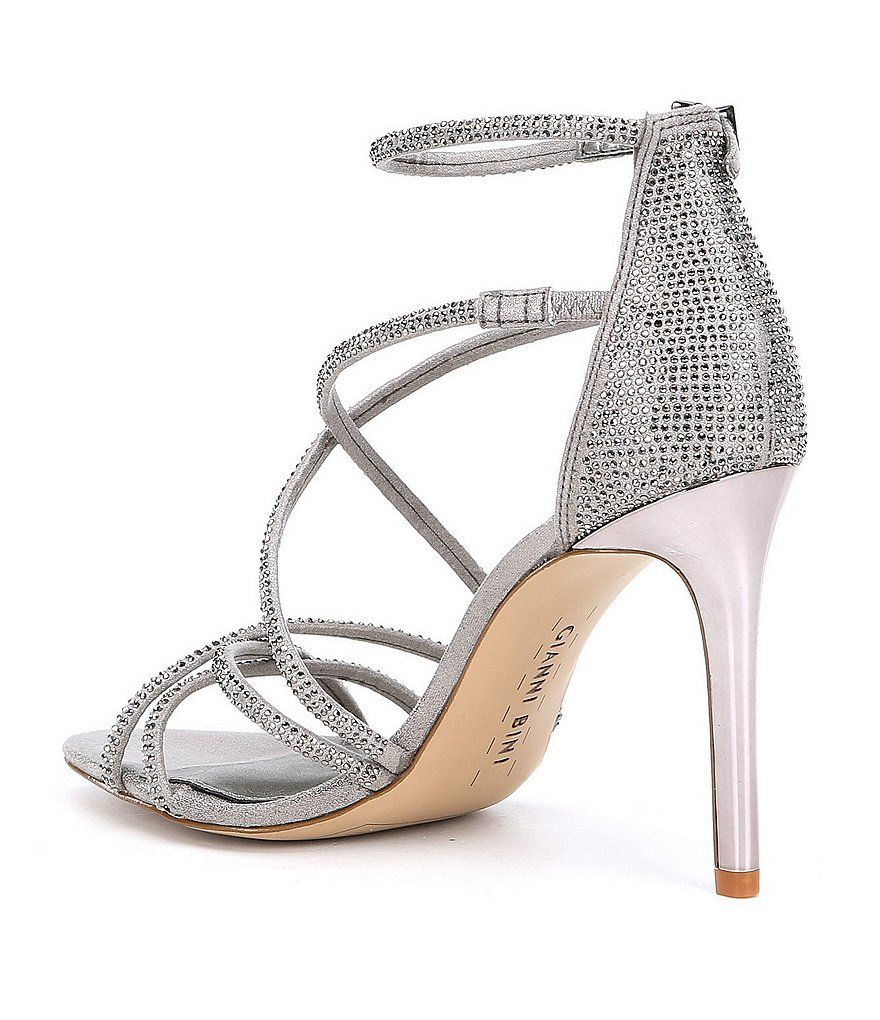 bcc6ee1d488 Gianni Bini Anselle Jeweled Strappy Dress Sandals in 2019