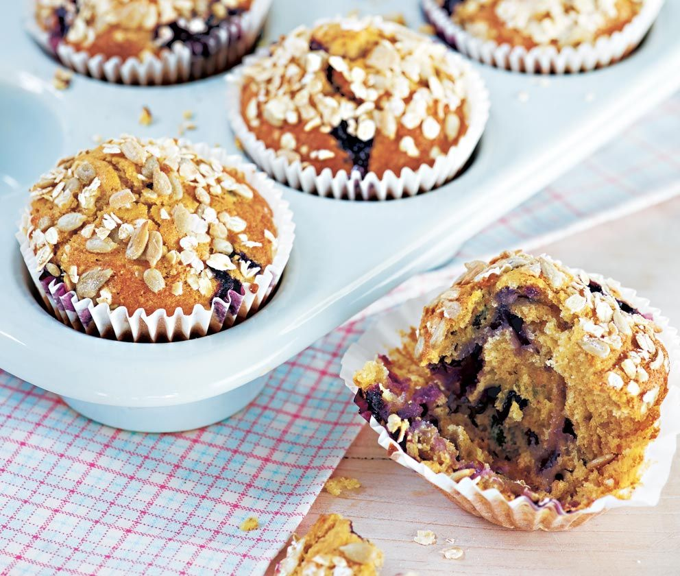 Blueberry Seeded Muffins Recipe Asda Recipes Food Best Cake Recipes