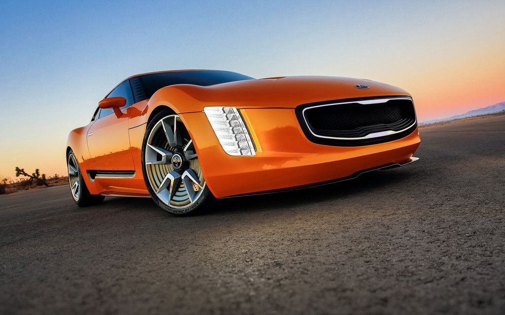 Kia Stinger Concept Hearkening Back To The Glory Days Of Purebred Affordable Sports Cars Kia Motors America Kma Unveiled The Brands Most