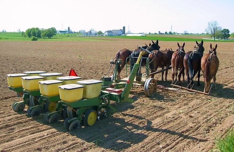 John Deere 7000 4 Row Planter Amish Life Tractors John Deere