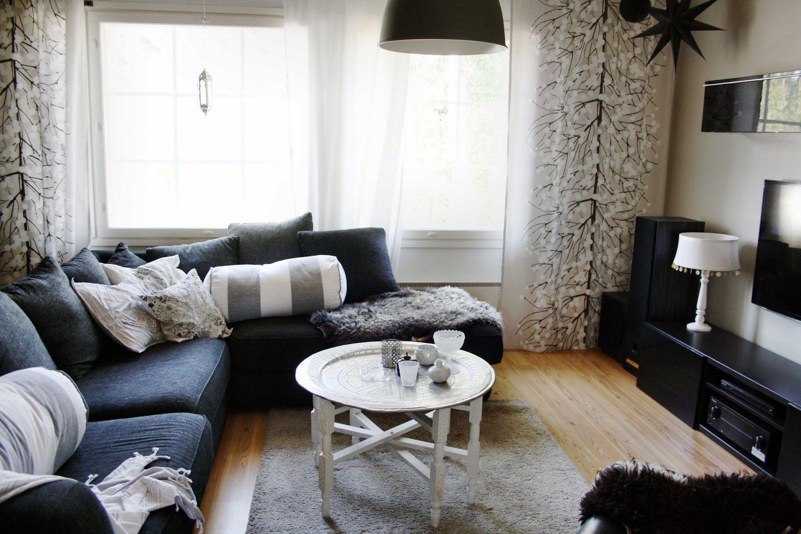 Livingroom // olohuone // lounge // vardagsrum // tine k// reunion home // ikea // marimekko // marrakesh // skandinaviskt hem