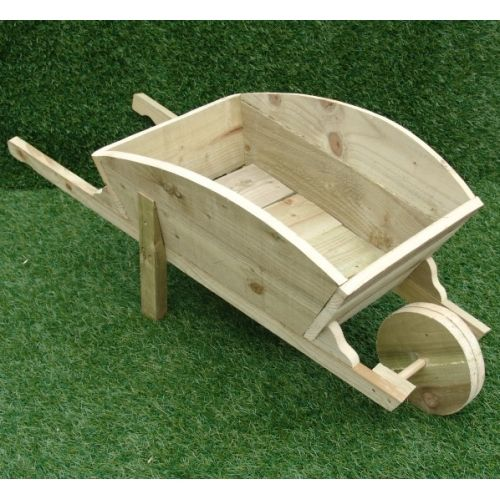Image Result For How To Build A Wooden Wheelbarrow Planter From Pallets Brouette En Bois Idee Deco Exterieur Brouette