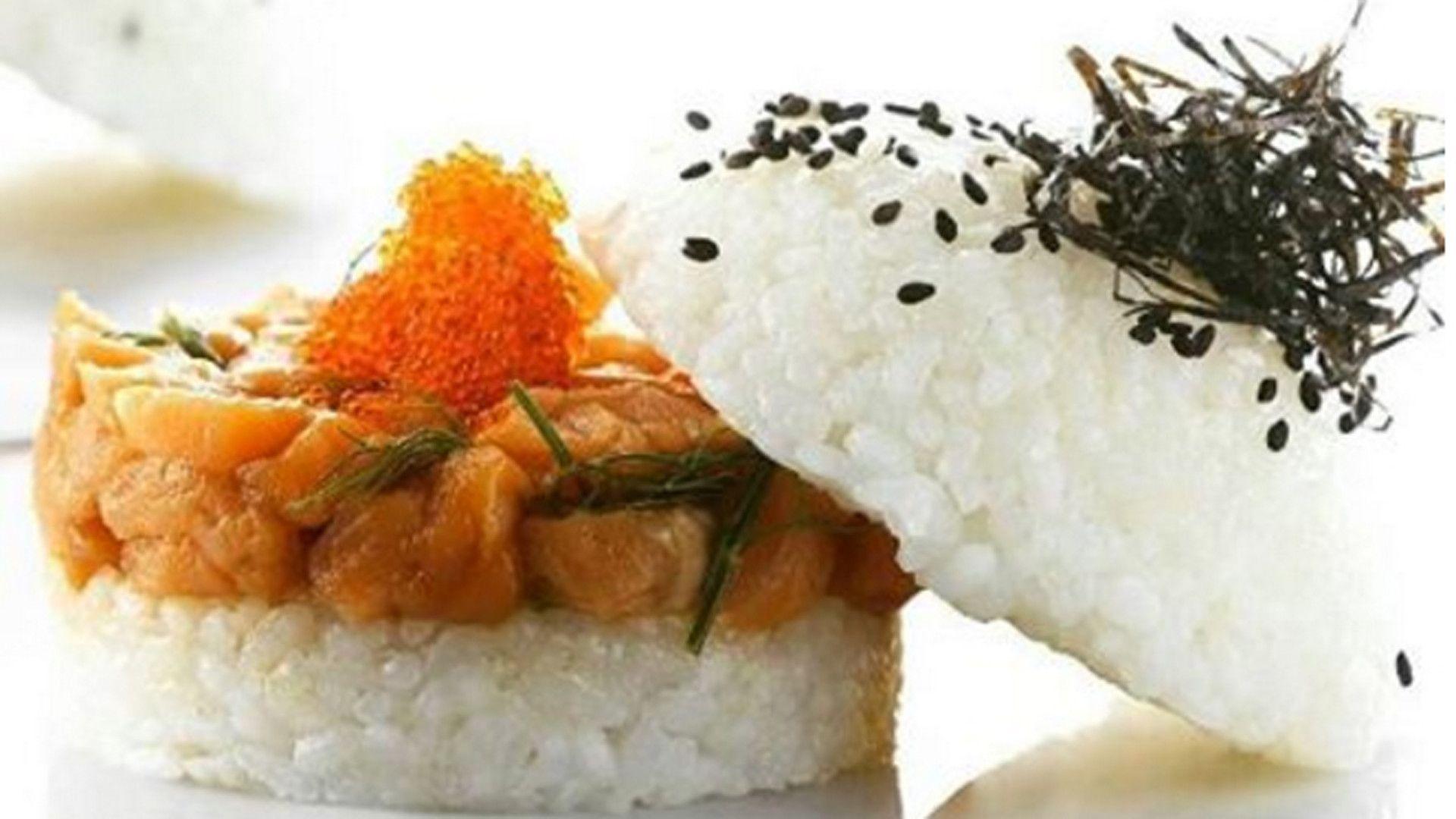 Sushi burger bliss