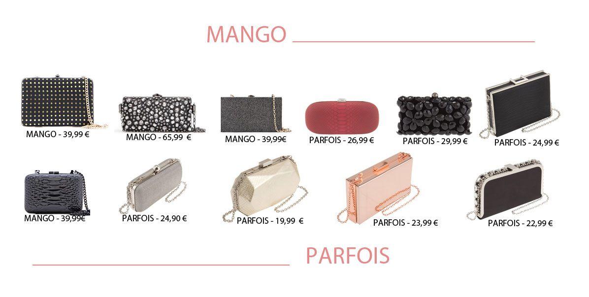 137b6c1f5233 Bolsos Fiesta de Mango y Parfois